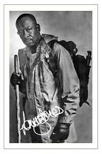 Lennie James The Walking Dead Season 6 Signed 6x4 Photo Print Morgan