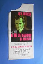 LOCANDINA IL RE DEI GIARDINI DI MARVIN JACK NICHOLSON A0