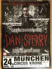 Dan Sperry-Strange Magic Tour 2018 Munich -- Poster-Affiche a1 NEUF