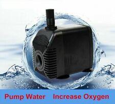 Aquarium Submersible Water Pump Increase Oxygen Filter 28W Fish Tank Pet Supply