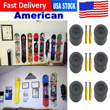 hold 3 Snowboard Hanger Holder Display Wall Rack Mount Accessories New *American