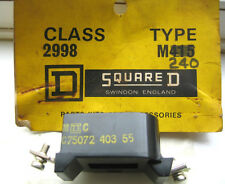 SQUARE D CLASS 2998 TYPE M240 CONTACTOR RELAY ENGINEERING MACHINE