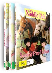 THE SADDLE CLUB - SERIES 2 - BRAND NEW & SEALED - 3 Disc Set