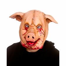 Pig Face Mask Horror Farm Halloween Movie Hillbilly Farmers Plague Purge