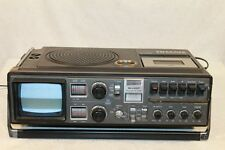 Vintage Sharp TRIMATE 3T-59 TAPE Boom Box portable Stereo tv ALL WORKING 36 YEAR