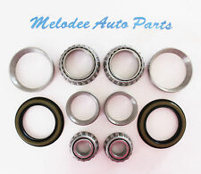 2 Front inner and Outer Wheel Bearing With Seals for CHEVY ASTRO 91-02 RWD Only
