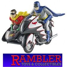 Hot Wheels Elite Batman Classic Series BATCYCLE Die-cast Vehicle 1:12 - NIB