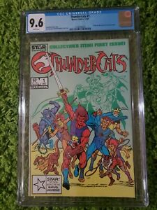 Thundercats #1 (1985) CGC 9.6 White Pages  Michelinie - Mooney - Breeding