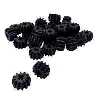 30 NEW LEGO Technic, Gear 12 Tooth Double Bevel black