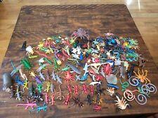 Plastic Toy Animal Lot