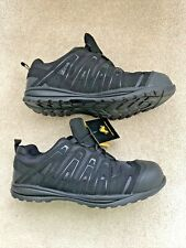 Amblers Safety FS40C Unisex Non-Metal Lace Up Safety Trainers Black Size UK 11