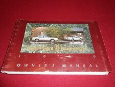 1989 OLDSMOBILE 88 & 98 OWNER MANUAL, '89 OLDS EIGHTY-EIGHT & NINETY-EIGHT