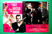 T01 Fotobusta A 007 aus Russland Mit Liebe Sean Connery James Bond Spy Kult 3