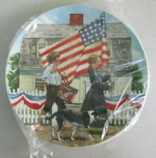 Don Spaulding Collector Plate Fourth of July Americana Holidays No Box