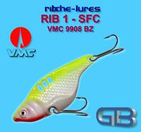 Cicaden, SFC, Kunstköder original RIBCHE LURES, VMC 9908 BZ 8g - 20g