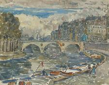 Prendergast Maurice Pont Marie Canvas 16 x 20  #6996