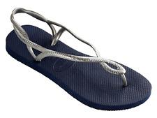 Havaianas luna blu e argento infradito mare donna estate sandalo ciabatta