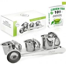 Chefast Loose Leaf Tea Infuser Set: Pack Of 3 Premium Stainless Steel Strainers