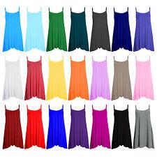 Unbranded Women's Petite No Pattern Strappy, Spaghetti Strap Dresses