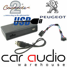 Peugeot 207 307 308 3008 407 607 807 USB Car Interface Adaptor CTAPGUSB011