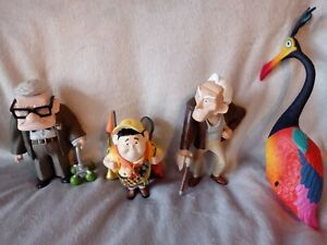 Disney Pixar Up Movie Figures Rare Disney Carl Russell Charles