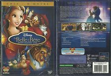 RARE / WALT DISNEY : LA BELLE ET LA BÊTE - EDITION 2 DVD NEUF EMBALLE NEW SEALED