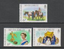 Falkland Islands - 1977, Silver Jubilee set - MNH - SG 325/7