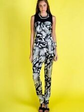 Women's Regular Polyester Animal Print Jumpsuits, Rompers & Playsuits