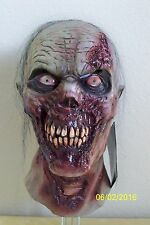 ADULT FURIOUS WALKER ANGRY TICKED OFF ZOMBIE GORY SCARY FULL LATEX MASK COSTUME