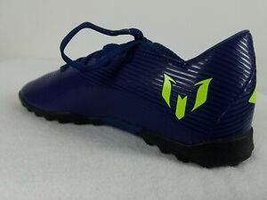 Adidas Nemeziz Messi 19.3 Turf Soccer Shoes Sz 1.5-5.5 Youth Purple Blue EF1811