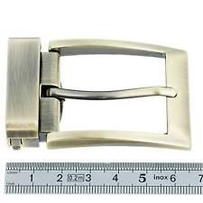 Boucle à griffe avec ardillon - LAITON VIEILLI SATINE - 35 mm