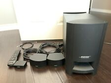 BOSE CineMate GS Series-II Digital Home Theater Speaker System With Stands