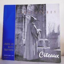 """33T CHOEURS DES MOINES TRAPPISTES Vinyle LP 12"""" MONASTERES -CITEAUX -E S SM 3311"""