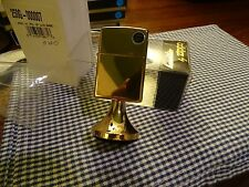 ZIPPO GOLD PLATED W/G BASE TABLE LIGHTER 2000