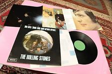 ROLLING STONES LP BIG HITS EX+ CON POSTER GATEFOLD LAMINATED COVER TOOPPPPP