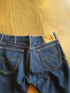LEVI'S 517 dark blue wash  bootcut denim Jeans 36 x 29 NEVER WORN