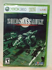 Zoids Assault Xbox 360 Game Brand New & Factory Sealed