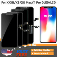 IPhone X XR XS MAX 11 PRO OLED LCD Screen Replacement Touch Digitizer Display US