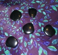 1 Shungite Palm Stone 1-1/2""