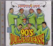 Banda Lamento Show de Durango Los 90's A Lo Duranguense CD New Nuevo sealed