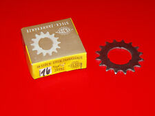 Retro Oldtimer Fahrrad Zahnkranz Ritzel Steckritzel ESJOT 15 Z 1//2x1//8 flach NOS