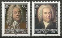 Germany (West) 1985 MNH - European Year of Music - Composers Bach and Handel