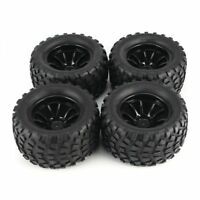 Wheels & Tires Set 1/10 Rc Monster Truck For Arrma Granite Fazon Vorteks
