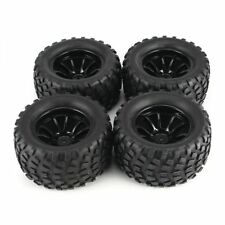Wheels Tires Set 1/10 Rc Monster Truck For Traxxas Grave Digger Skully Craniac