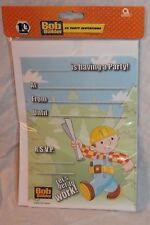 NEW BOB THE BUILDER  20 INVITATIONS PARTY SUPPLIES