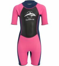 Konfidence Shortty Wetsuit Pink X-Large-Keeps You Warm in the Water-Comfortable!