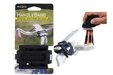 New Nite Ize Handle Band Universal Smartphone Bar Mount Black Silicone HDB-01-R3