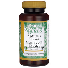 Swanson  Agaricus Blazei Mushroom Extract 500mg 90 caps for immune support