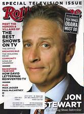ROLLING STONE magazine #1140  JON STEWART cover  David Letterman