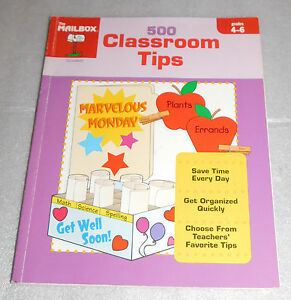 Mailbox 500 Classroom Tips Grades 4-6 Routines Events Curriculum Lesson 2004 PB